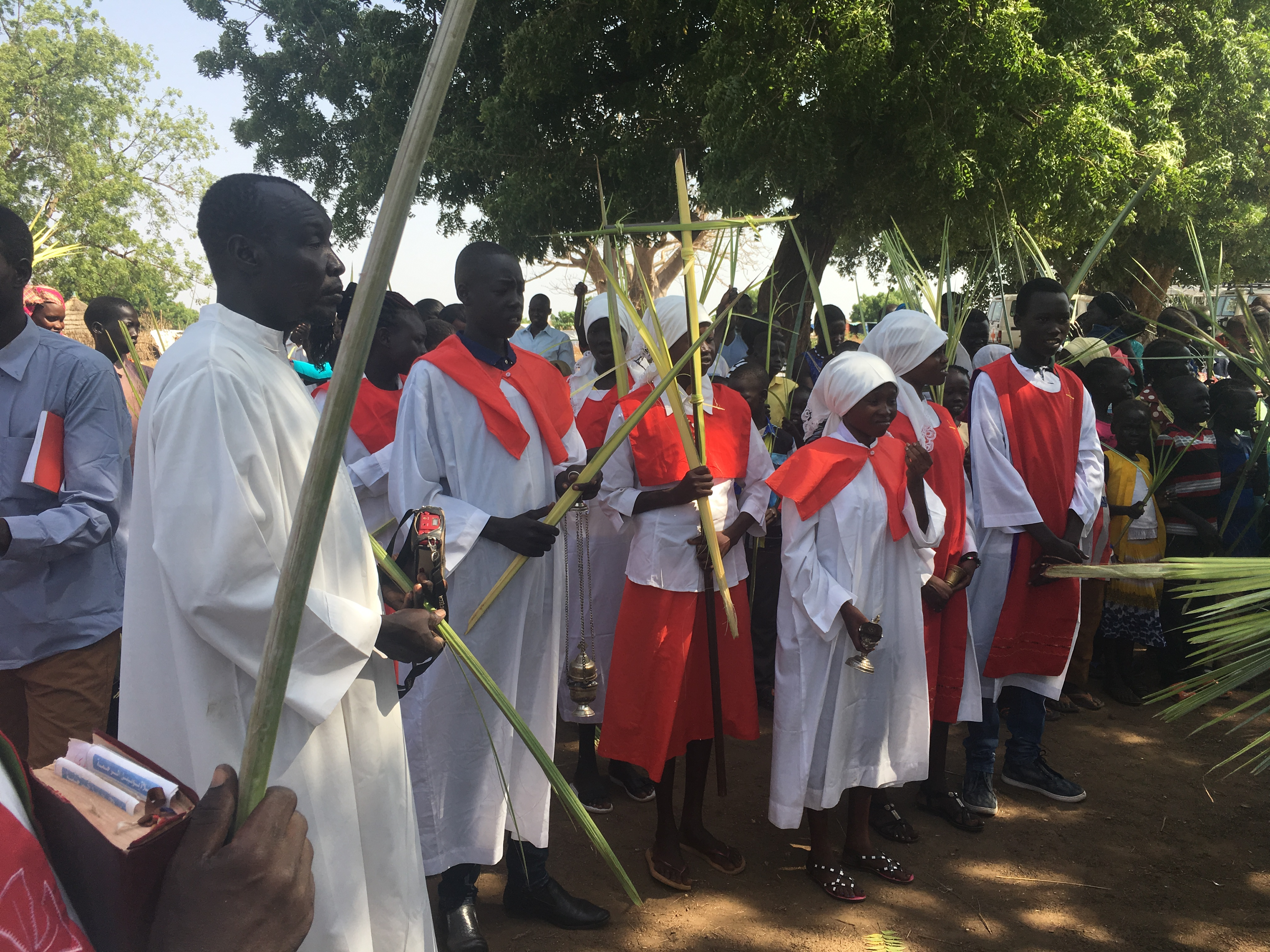 South Sudan sings Alleluia - Easter in Doro